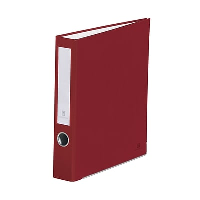 Bindertek 3-Ring 2-Inch Premium Binders, Brick Red (3SLN-BR)