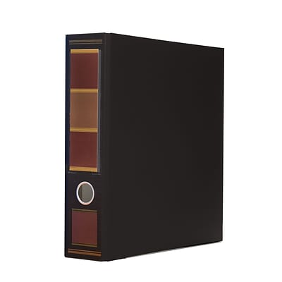 Bindertek 3-Ring 3-Inch Premium Binders, Barrister Black (3EFN-BB)