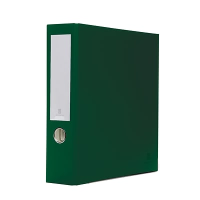 Bindertek 3-Ring 3-Inch Premium Binders, Evergreen (3EFN-EV)
