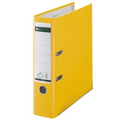 leitz 2 ring 3 inch premium a4 sized european binders yellow 1010