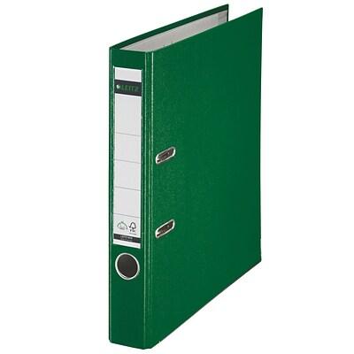 leitz 2 ring 2 inch premium a4 sized european binders green 1015