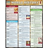 BarCharts, Inc., QuickStudy® World History Reference Set (9781423230120)