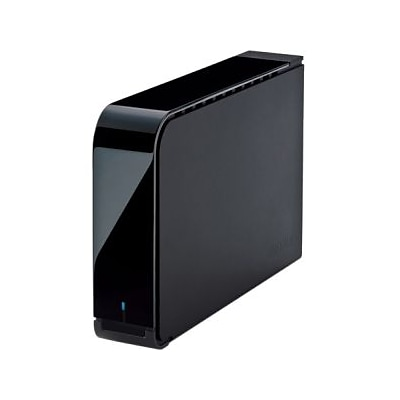 Buffalo Americas DriveStation™ Axis Velocity HD-LX6.0TU3 External Hard Drive; 6TB, USB 3.0 (2.0), SATA, Desktop, Black