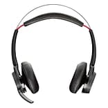 Plantronics  Voyager Focus UC B825 Over-the-Head Stereo Headset with ANC Microphone; Black