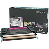 Lexmark (C734A4MG) Magenta Standard Yield Return Program Toner Cartridge for C73X Series Printers