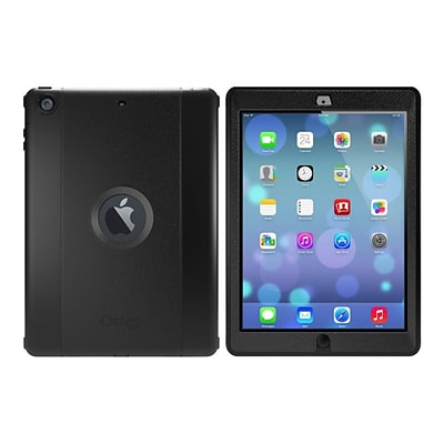 OtterBox 77-52006 Defender Series Protective Case for iPad Air; Black