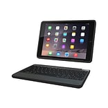 Zagg® ID6RGK-BB0 Rugged Book Polycarbonate Keyboard and Case for iPad Air 2; Black