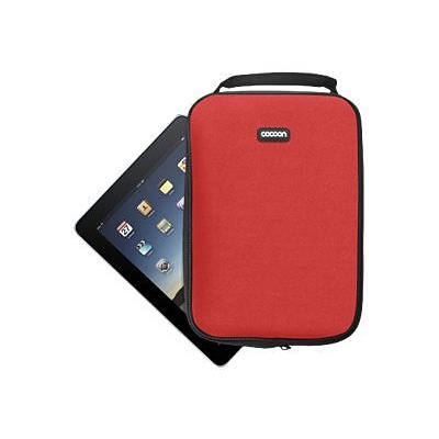 Cocoon CNS342RD NoLita Protective Sleeve for Tablet/Notebook; Racing Red
