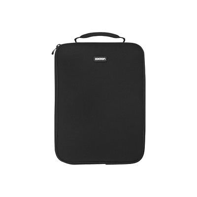 Cocoon® NoLita Black Neoprene/Nylon Sleeve for 13 Laptop (CLS357BY)