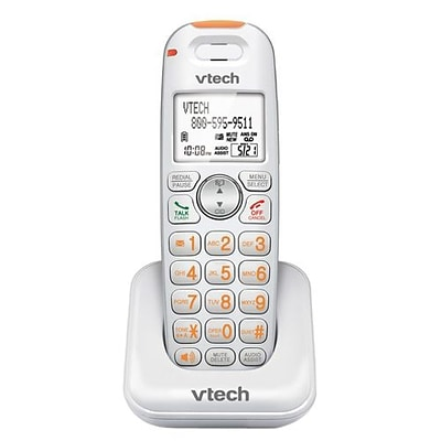 VTech SN6107 Conference Cordless CareLine® Accessory Handset; Office Phones, Silver