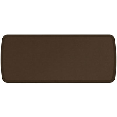 GelPro Elite Premiere Anti-Fatigue Comfort Mat: 20x48: Vintage Leather Rustic Brown