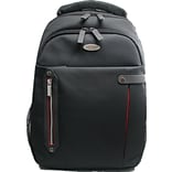 Eco Style ETPR-BP16-CF Tech Pro Backpack For 16.4 Laptops; Black/Red