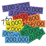 Whole Number Place Value Card Set; 4, 70pk