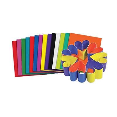 Roylco® Double Color Sheets, 8 x 9, Assorted, 100 Sheets (R-22052)