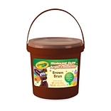 Crayola Modeling Clay; Non Toxic, Brown 14.8 oz