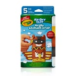 Crayola Air Dry Clay; Assorted .50oz, 2.5oz