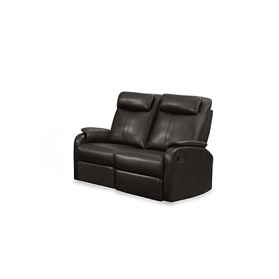 Monarch Specialties 50L Brown Reclining 2 Piece Loveseat ( I 81BR-2 )