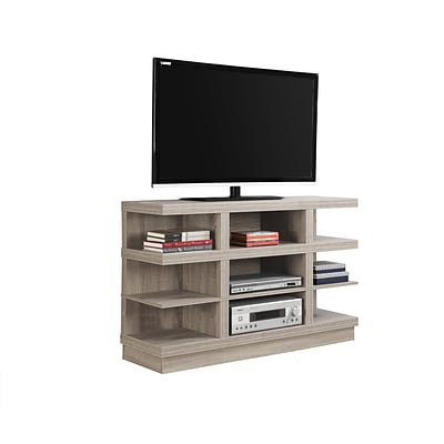 Monarch Specialties TV Stand Dark Taupe (I 2688)