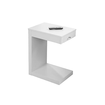 Monarch Specialties Accent table in White ( I 3192 )