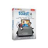 Corel 1 User Roxio® Toast v.14.0 Titanium Software for Mac; Disk (RTOT14MLMBAM)