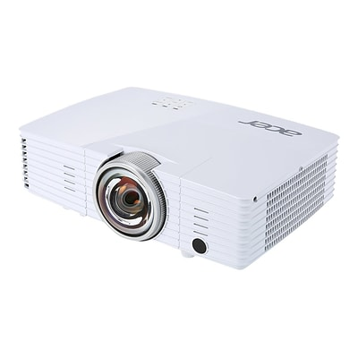 Acer S1385WHne WXGA UHP 3D Ready DLP Projector; 3200 Lumens, 5.29 lbs.