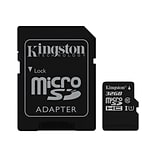 Kingston® SDC10G2/32GB Class 10/UHS-I 32GB microSDHC Memory Card with SD Adapter