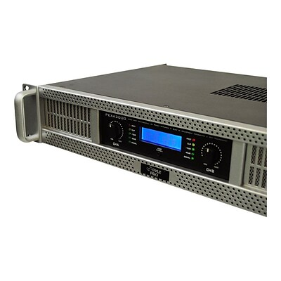 Pyle 2-Channel 3000 W Rack-Mount Power Amplifier; Gray (PEXA3000)