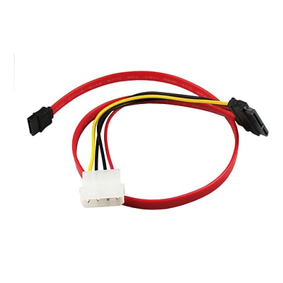 ClearLinks™ CL-SATA-18-LP4 1.5 SATA to LP4 Female/Male Shielding Data Transfer Cable