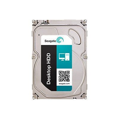 Seagate® Barracuda ST2000DM002 2TB SATA 6 Gbps 3.5 Desktop Internal Hard Drive with SED