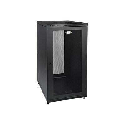 Tripp Lite SmartRack 24U Extra-Depth Rack Enclosure Cabinet; Black (SR24UB)