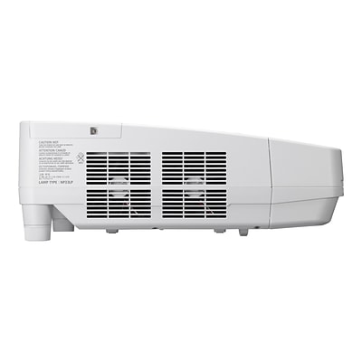 NEC NP-UM351W-WK 720p WXGA Ultra Short Throw LCD Projector; White