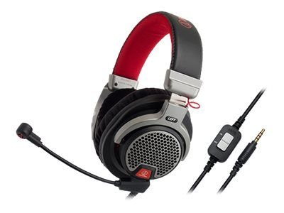 Audio Technica ATH PDG1 Over the Head Dynamic Premium Stereo Gaming Headset with Microphone