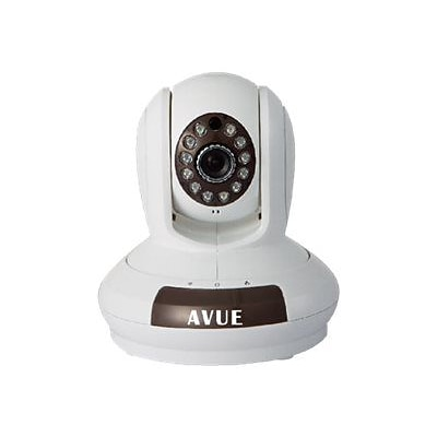 Avue AVP562W Wireless Plug & Play IP Cloud Network Camera; White