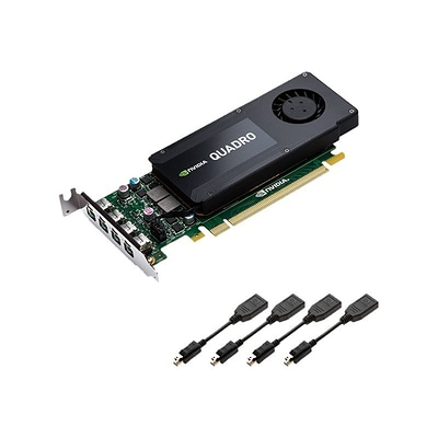 PNY® NVIDIA Quadro K1200 Graphic Card (VCQK1200DP-PB)