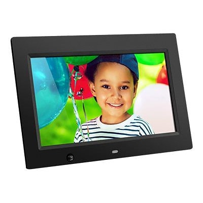 Aluratek 10 Desktop Digital Photo Frame with Motion Sensor and 4GB Built-in Memory (ADMSF310F)