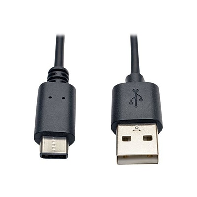 Tripp Lite 3 Type-A USB/Type-C USB Male/Male Hi-Speed Cable; Black (U038-003)