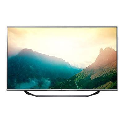 LG UX340C 79 2160p Commercial Lite LED-LCD TV; Silver/Black
