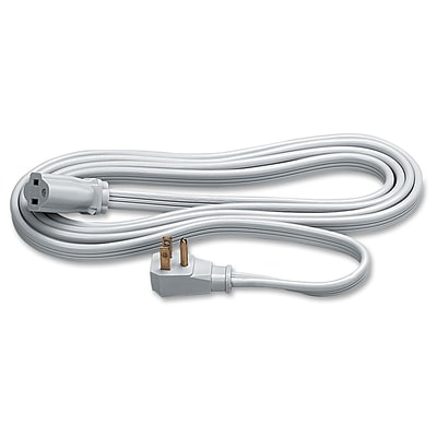 -Fellowes 9 Heavy-Duty Indoor Extension Cord; Gray (99595)
