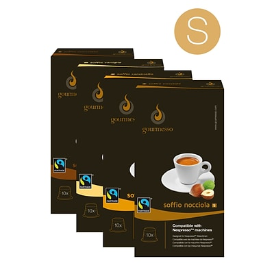 Gourmesso Coffee; Flavor Bundle - Small, 90 Nespresso compatible capsules