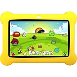 Worryfree Gadgets 7 Yellow Kids Tablet