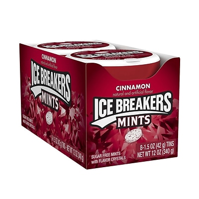 Ice Breakers Cinnamon Tins 8 Count; 1 Each