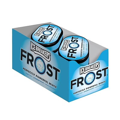 Ice Breakers Frost Peppermint Mint Tin 6 Count, 1 Each