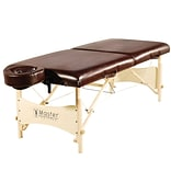Master Massage Portable Massage & Exercise Table; 30, Chocolate Luster (20240)