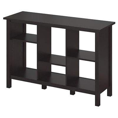 Bush® Furniture Broadview Collection 6 Cube Bookcase