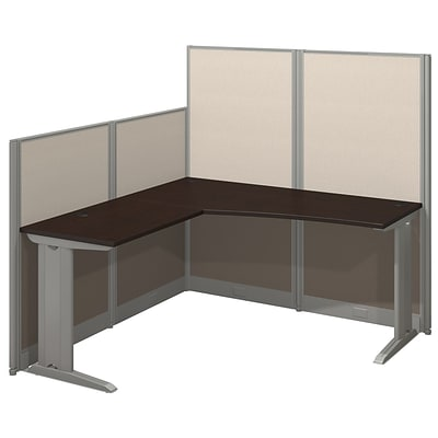Bush Business Office in an Hour Collection 65W x 65D L-Workstation - Installed