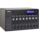 Qnap® TVS-871-I7-16G 8 Bay Turbo Diskless NAS Server with 4K Video Playback and Transcoding for PC/M