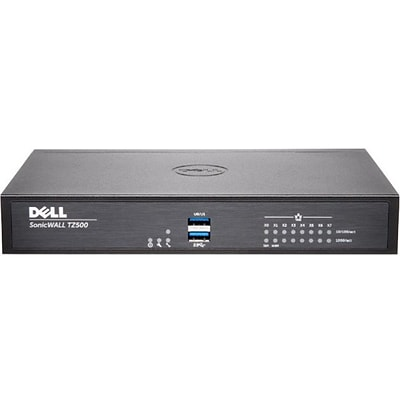 Sonicwall (01-SSC-0212) TZ500 8-Port Gigabit Ethernet Network Security/Firewall Appliance for PC/Mac