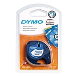 Dymo® 1/2 Black on White Label Tape