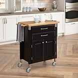 Home Styles 36 Wood Dolly Madison Prep And Serve Cart