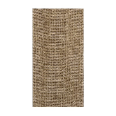 Hoffmaster FashnPoint Natural Burlap Print GuestTowel; 11.5 X 15.5, 900 per Case (FP1206)